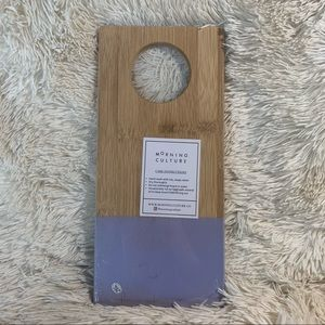 Morning Culture Bamboo Serving Board
